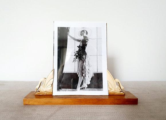 Wooden Swan Photo Frame