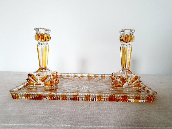 Amber Flash Dressing Table Set