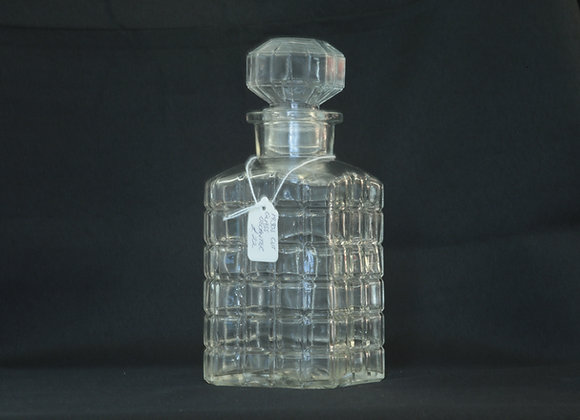1930s Cut Glass Decanter