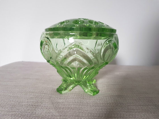 Sowerby Posy Bowl with Frog