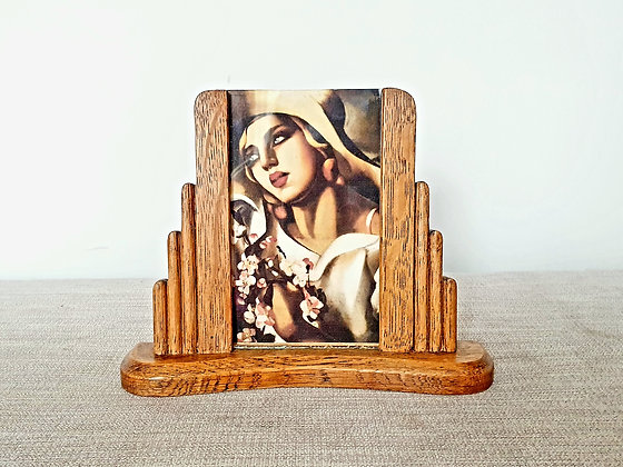 Stepped Wooden Photo Frame