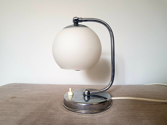 Adjustable Chrome Lamp