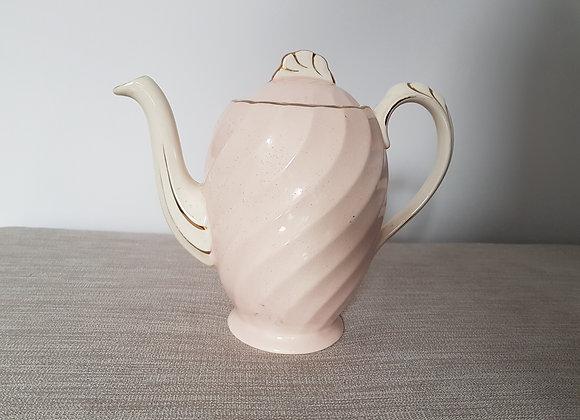 Clarice Cliff Miniver Rose Coffee Pot