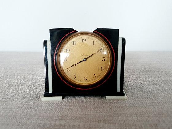 Black & White Bedside Clock