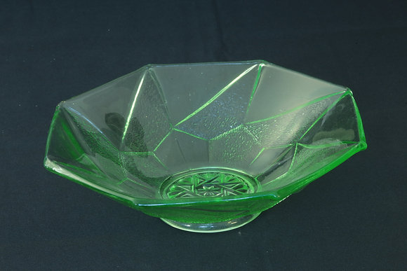 Sowerby Green Glass Bowl