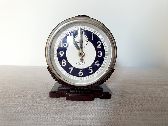 Japy French Bakelite Clock