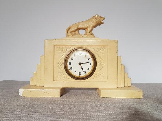 1920s Lion Clock