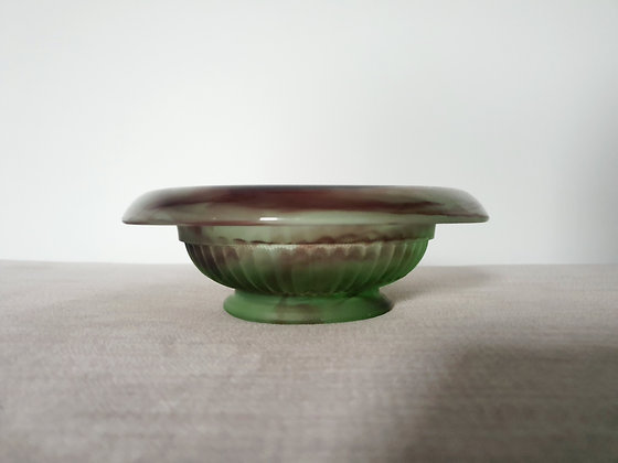 Davidson Topaz-Briar Cloud Glass Bowl