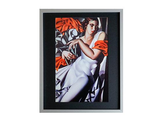 Tamara de Lempicka Framed Print Portrait of Ira Perrot