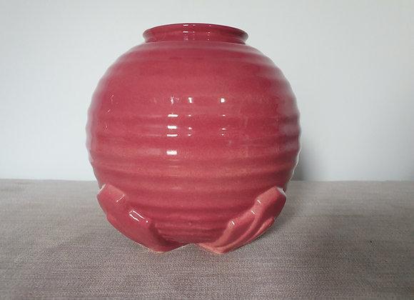 Dusky Pink Ceramic Pandora Vase