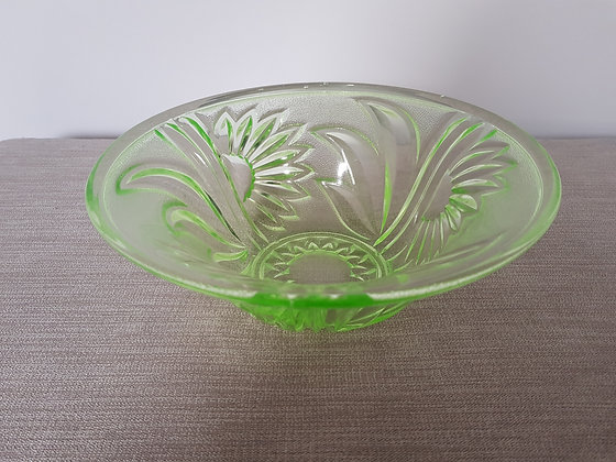 Uranium Glass Bowl