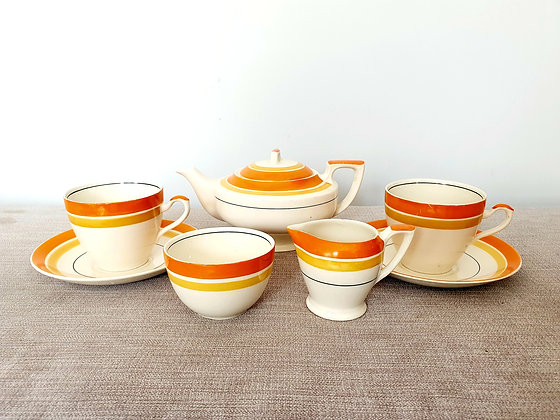 Myott Tea Set for Two