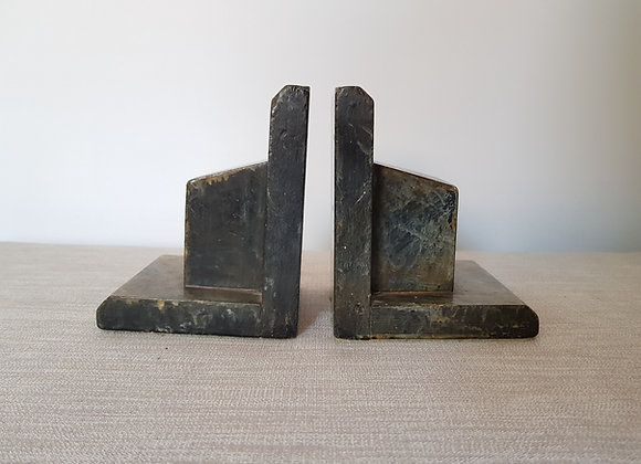 Marble Effect Bookends
