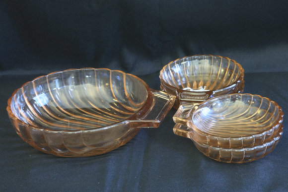 Set of 5 Glass Bowls