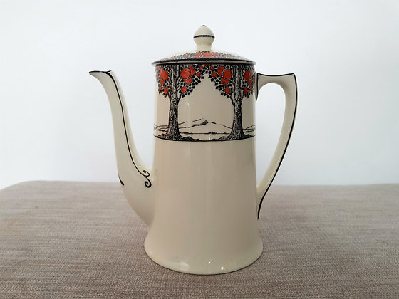 Crown Ducal Orange Tree Coffee Pot