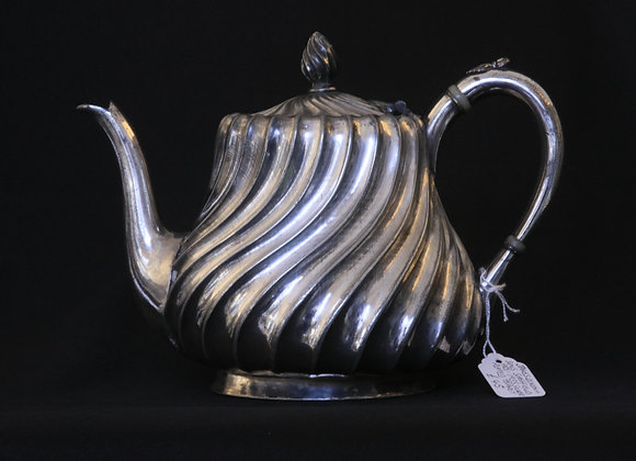 Silver Plated 1930s Teapot