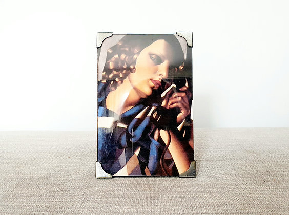 Chrome Plated Photo Frame