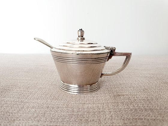Mappin & Webb Silver Plated Mustard Pot