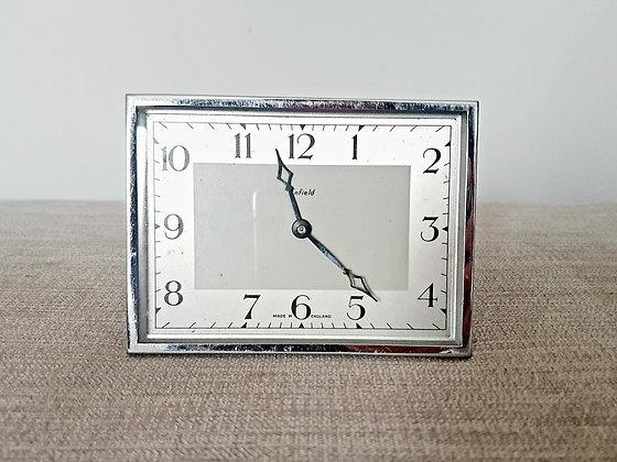 Enfield Chrome Desk Clock