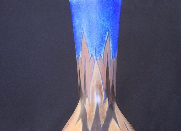 Clews & Co Chameleon Ware Vase