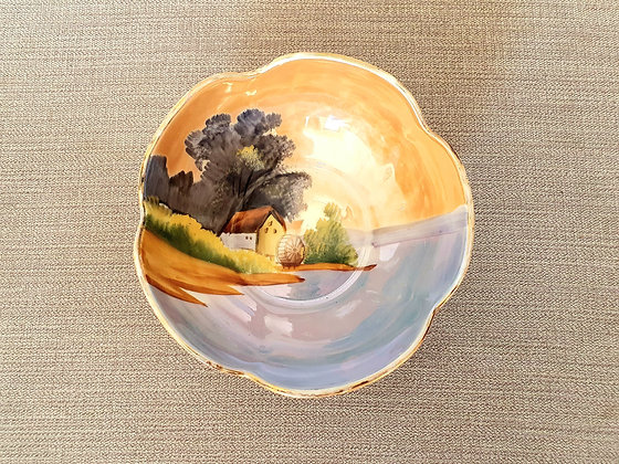 Art Deco Noritake Trinket Bowl Ceramics Pottery 1930s for sale UK