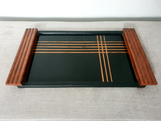 Black Cocktail / Drinks Tray