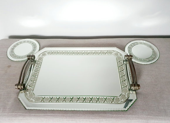 Art Deco Cocktails Tray