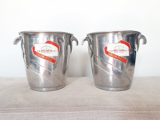 Mumm & Co Champagne Buckets