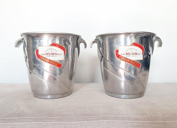 Mumm & Co Champagne Buckets