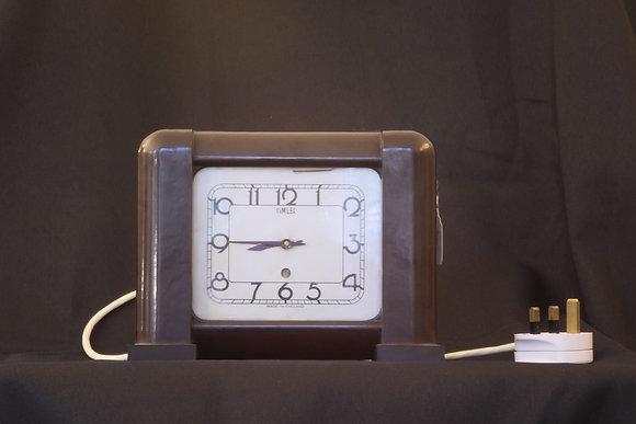 Timlec Bakelite Electric Clock
