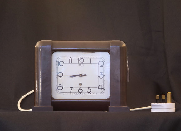 Timlec Bakelite Electric Clock