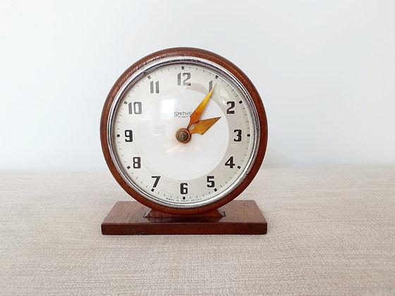 Smiths Wooden Circular Clock