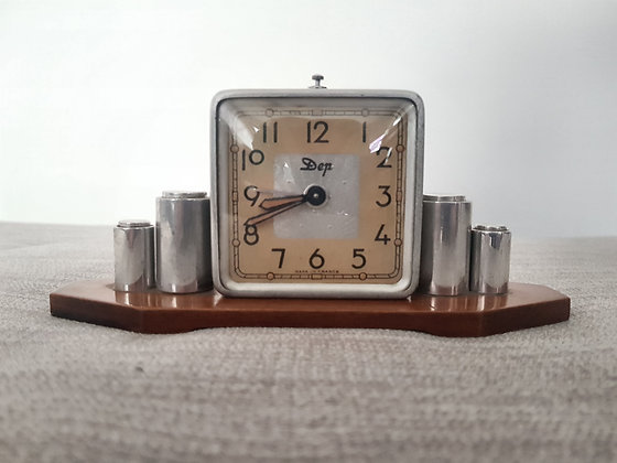 DEP Chrome Alarm Clock