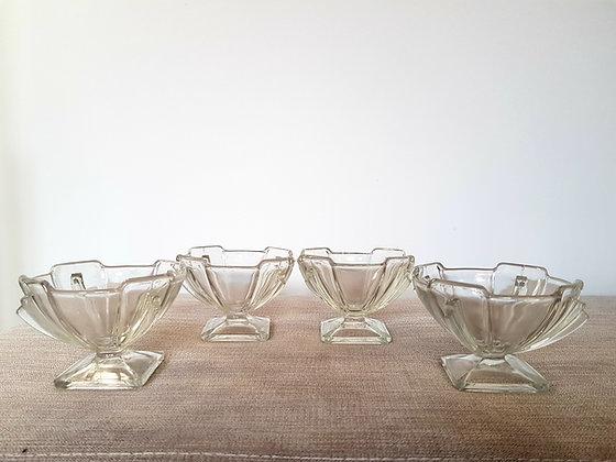 Stölzle Set of 4 Sundae Dishes