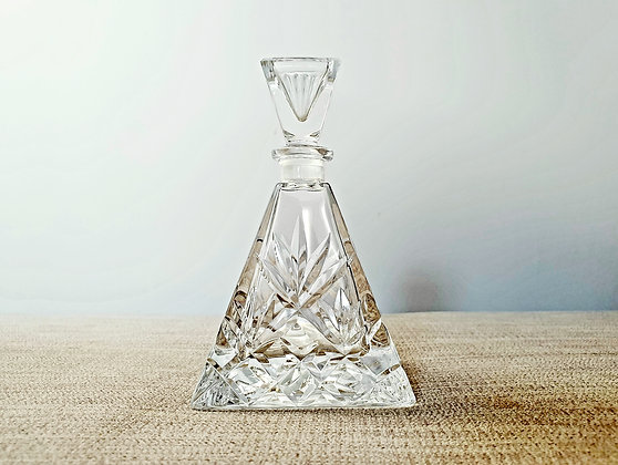 Pyramid Shaped Perfume Bottle