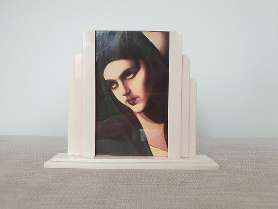Pink Stepped Photo Frame