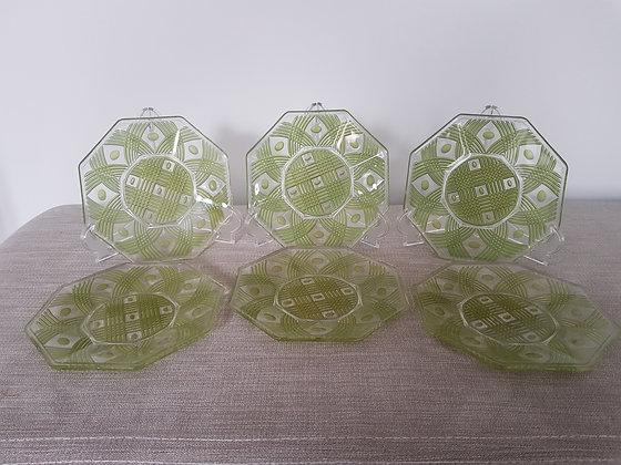 Set of 6 Tea Plates