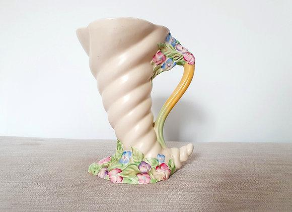 Clarice Cliff Cornucopia Vase