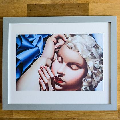 Tamara de Lempicka Framed Print The Sleeping Girl (Kizette) I
