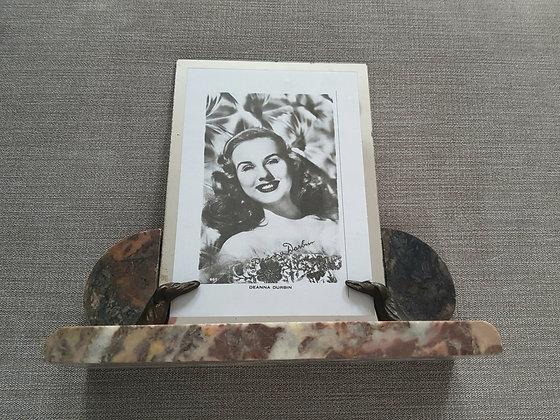 Borzoi Marble Photo Frame