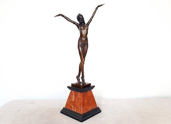 Chiparus Bronze Egyptian Dancer