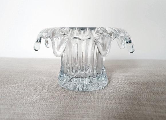Sowerby Clear Iris Vase