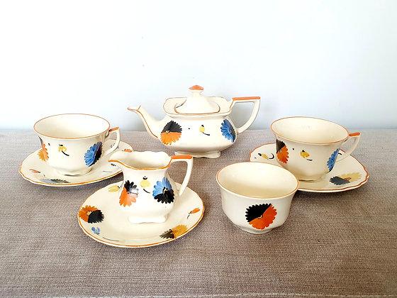 Myott Floral Tea Set for Two
