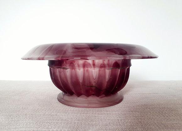 Davidson Amethyst Cloud Glass Bowl