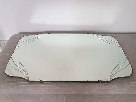 Etched Bevelled Edge Mirror