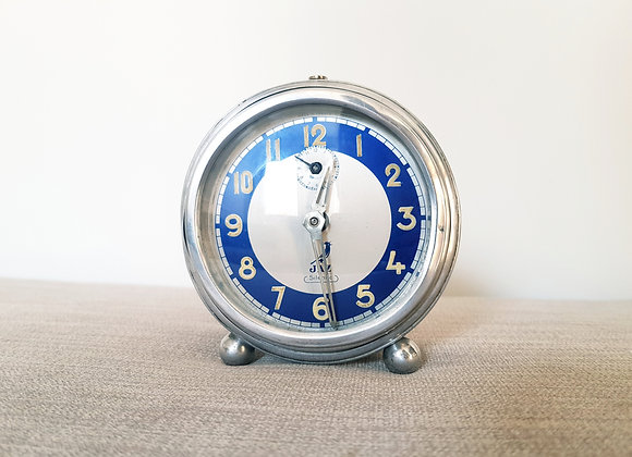Jaz Chrome Alarm Clock