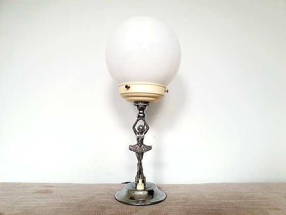 Chrome Ballerina Lamp