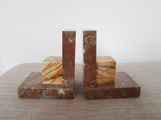 Marble Bookends