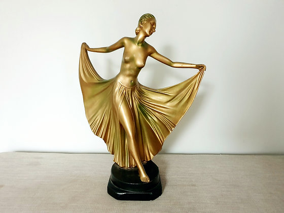 Art Deco Leonardi Rhapsody Lady Figure