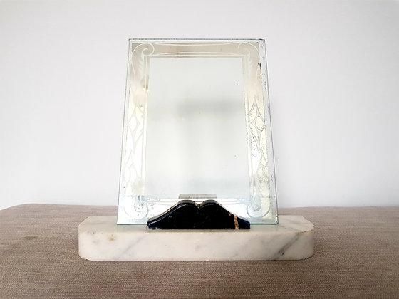 White Marble Photo Frame